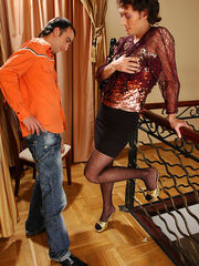 Frilly crossdresser with mrs loving free photos